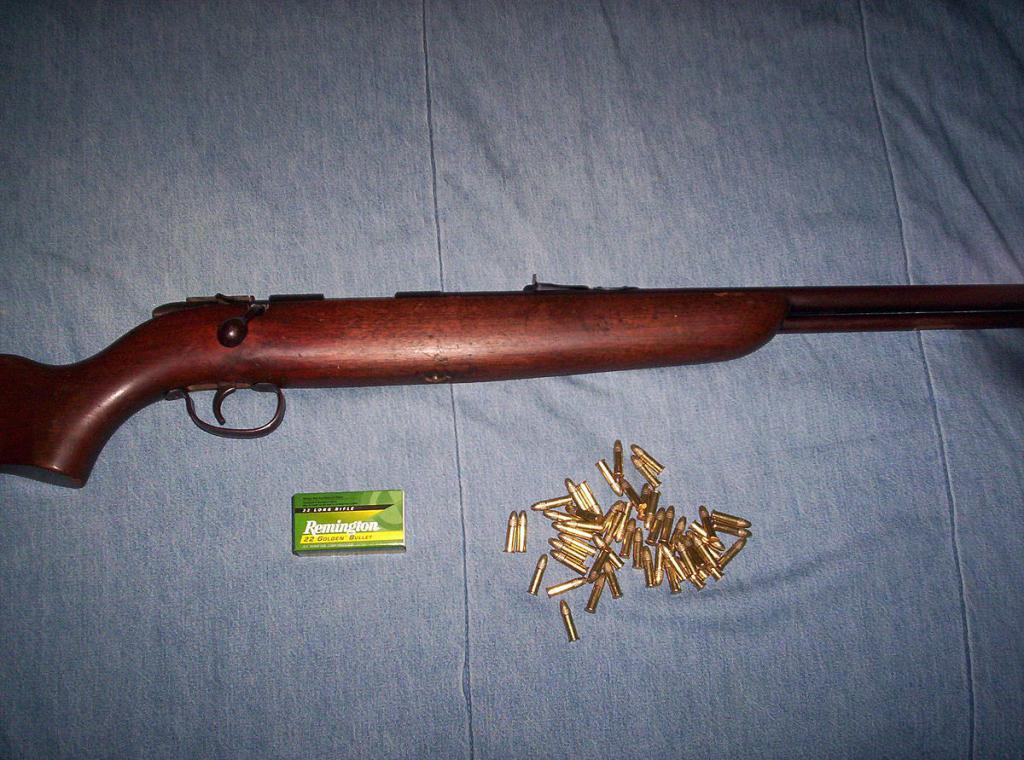 Ружье малого калибра и патроны к нему