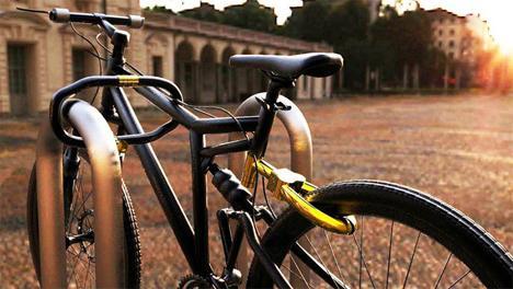 замок на велосипед