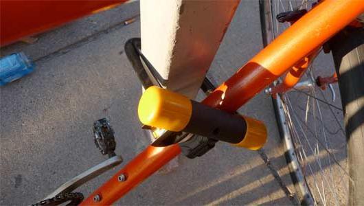 противоугонный замок для велосипеда