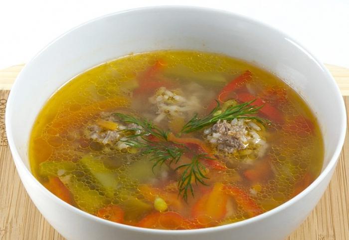 рецепт фрикаделек для супа