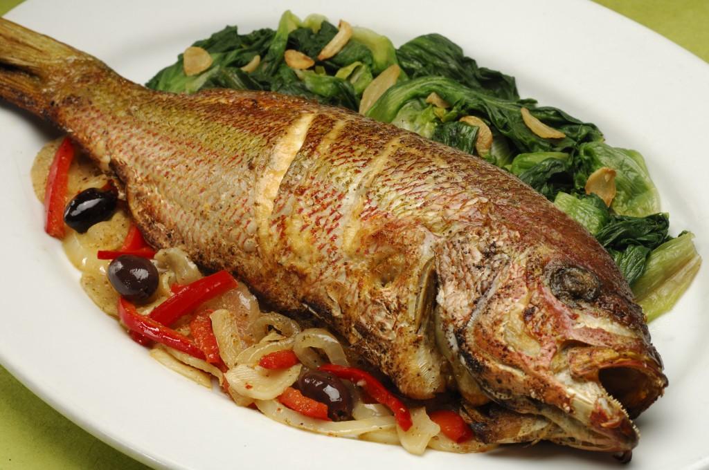 приснилось ем жареную рыбу