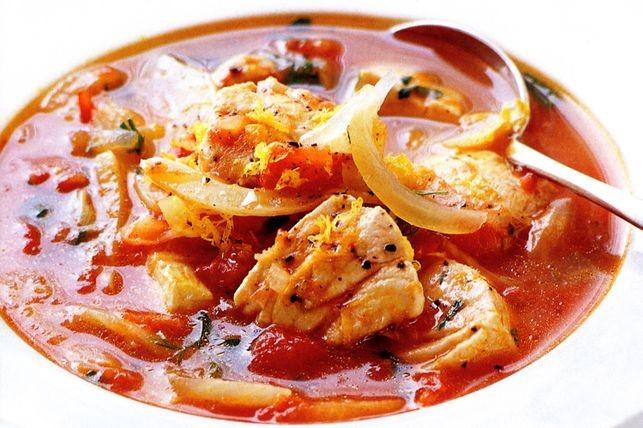 Суп из морепродуктов рецепт морской коктейль томатный