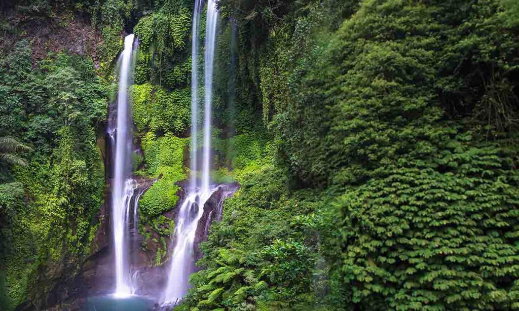 водопад Секумпул бали