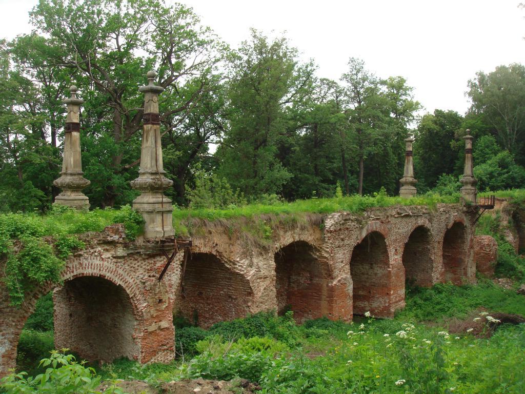 Мост на территрии усадьбы