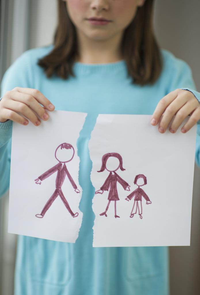 развод с ребенком до года