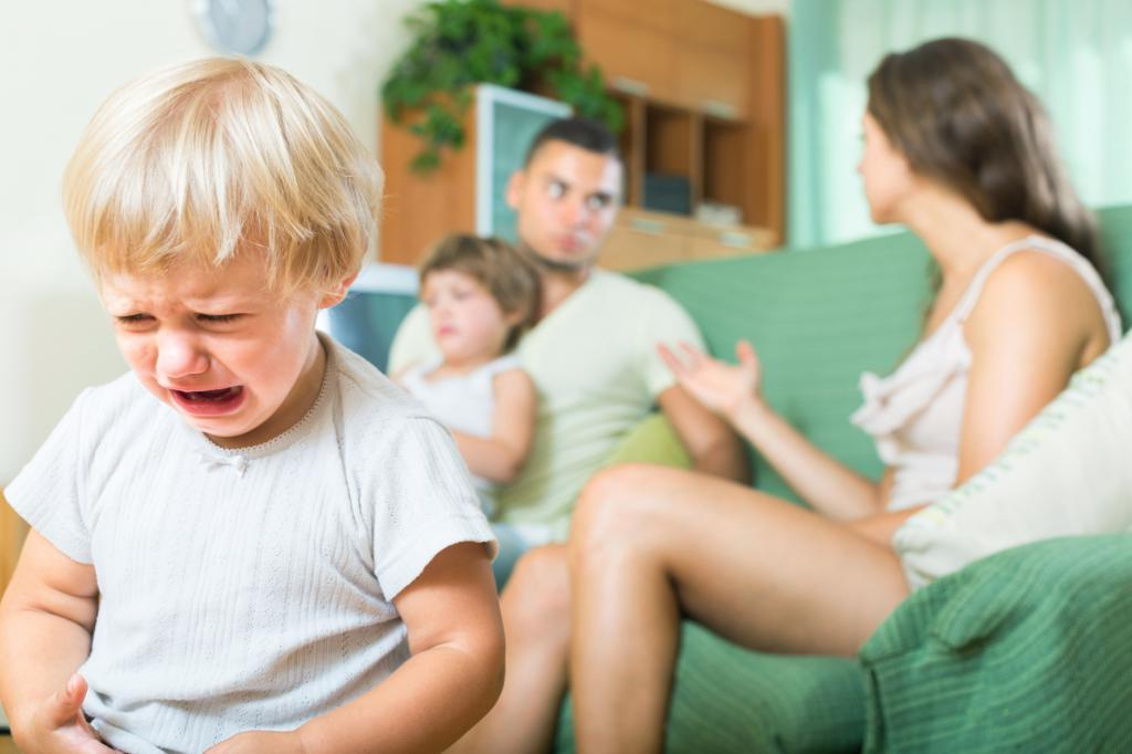 порядок развода с ребенком до года