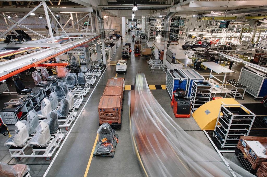 Транспортировка в процессе производства