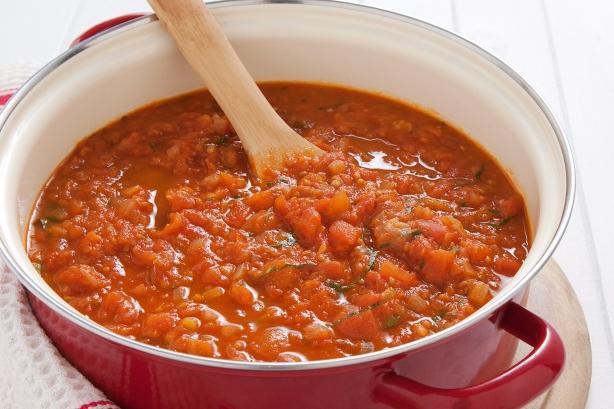 как сделать соус для спагетти