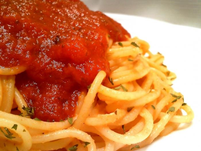 соус для спагетти из помидоров
