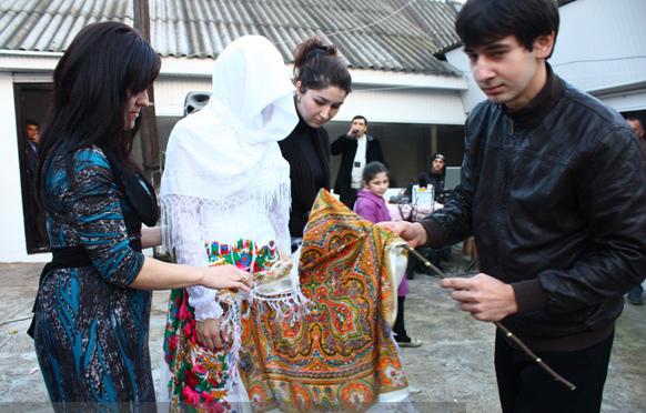 балкарская свадьба, обряды