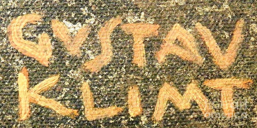 Подпись Климта