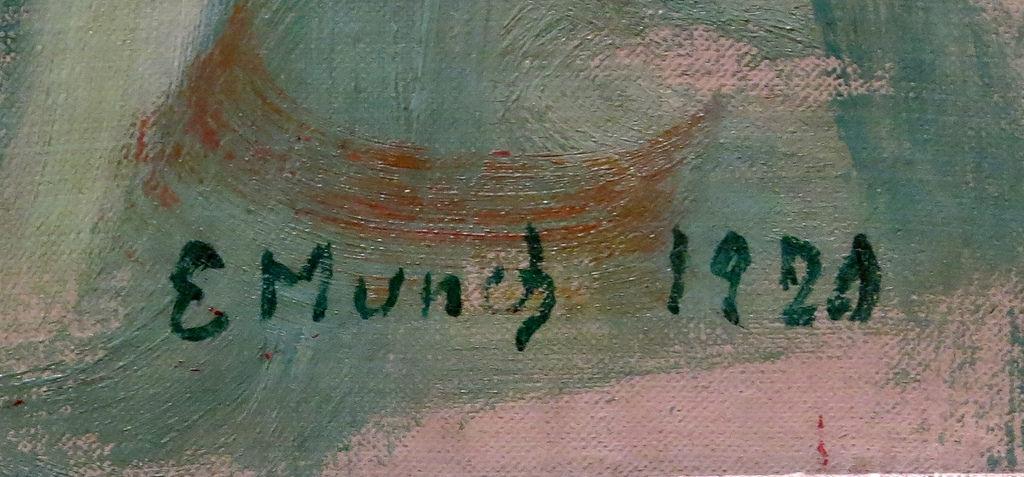 Подпись Мунка