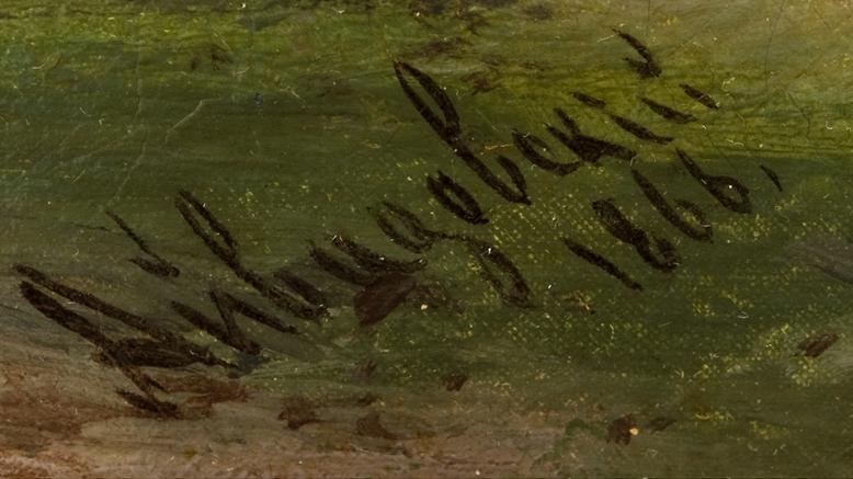 Подпись Айвазовского