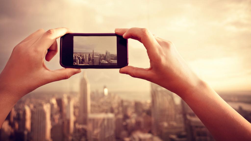 фото с телефона