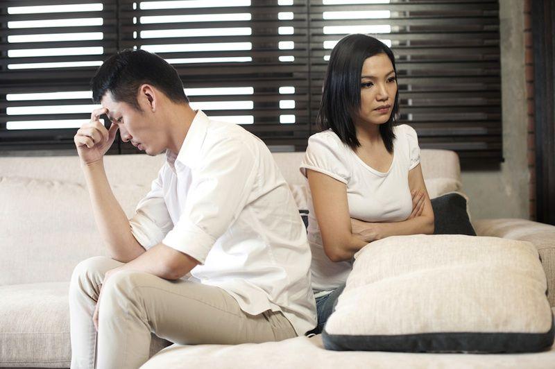 Мужчина и женщина в ссоре