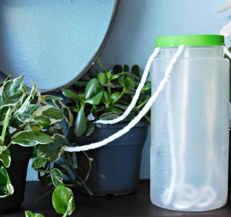 фитильный полив всех растений
