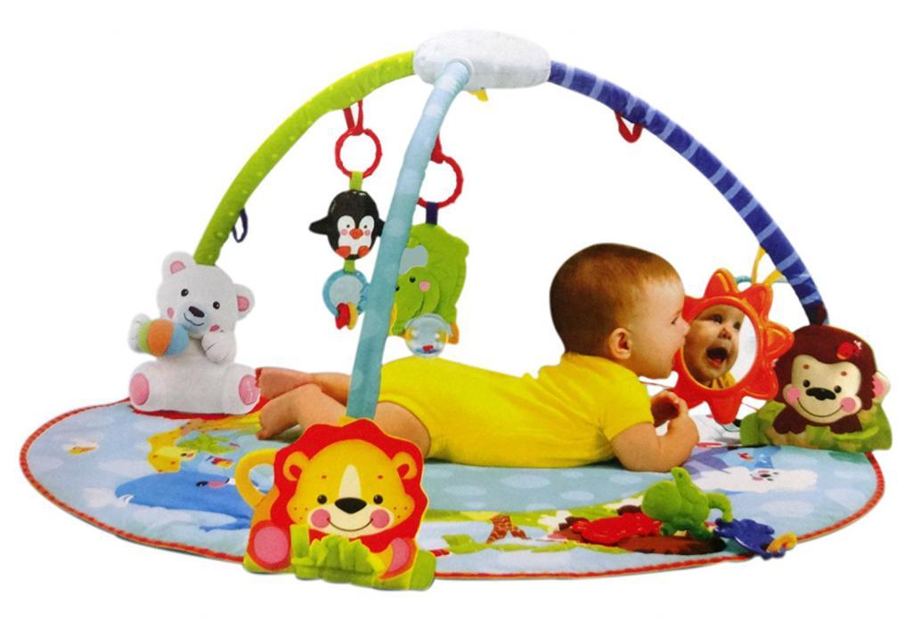 детский развивающий коврик с какого возраста