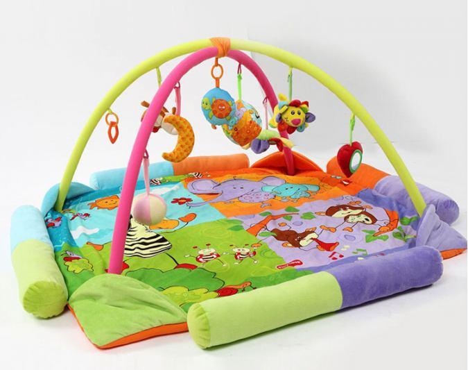 развивающий коврик до какого возраста нужен