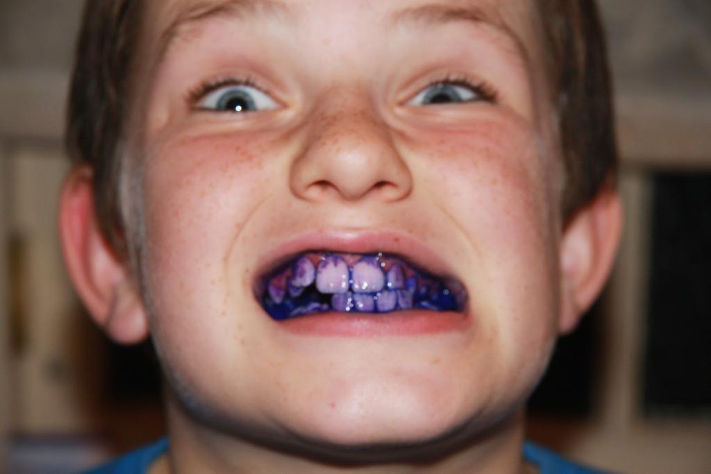 индикатор зубного налета