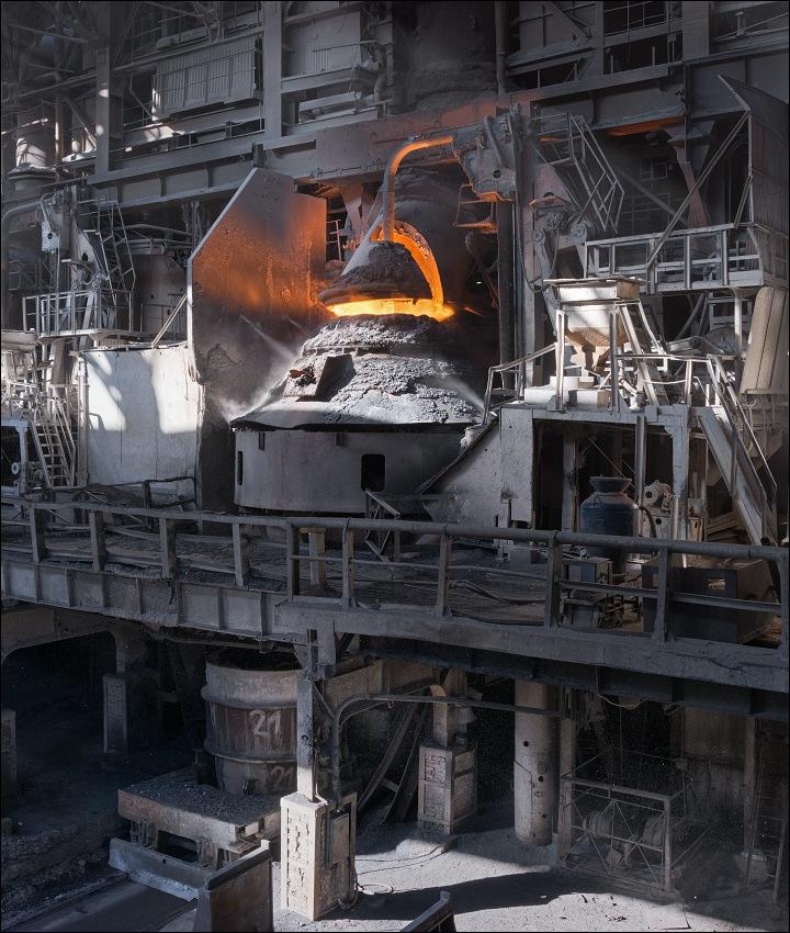 Кислородный конвертер для выплавки стали