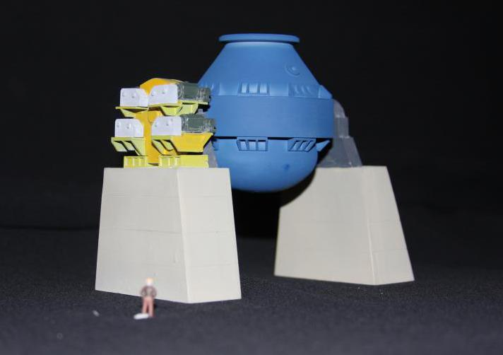 Модель кислородного конвертера