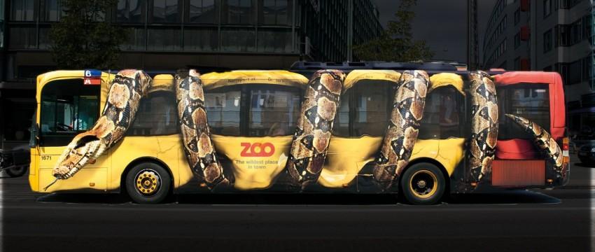Маркетинговый экспериментальный автобус