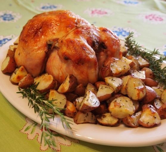 Рецепт курицы с картошкой в фольге в духовке