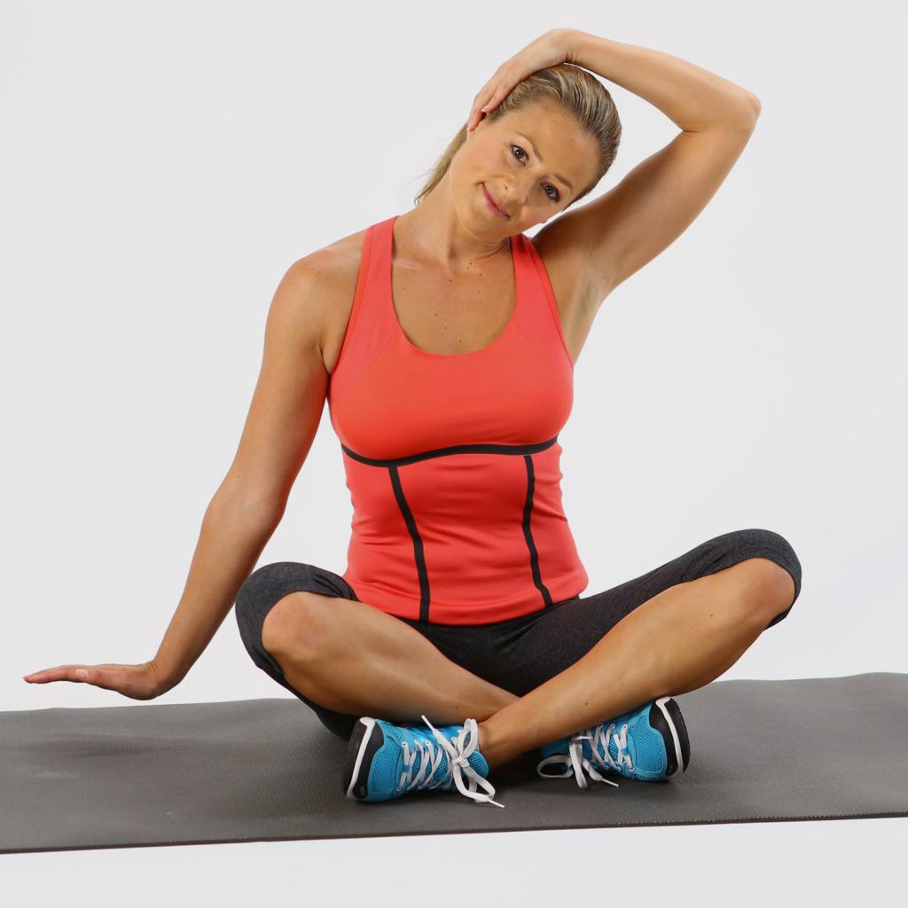 Упражнения от головной боли при шейном остеохондрозе