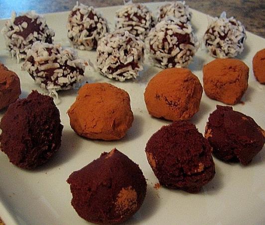 рецепт конфет из детской смеси
