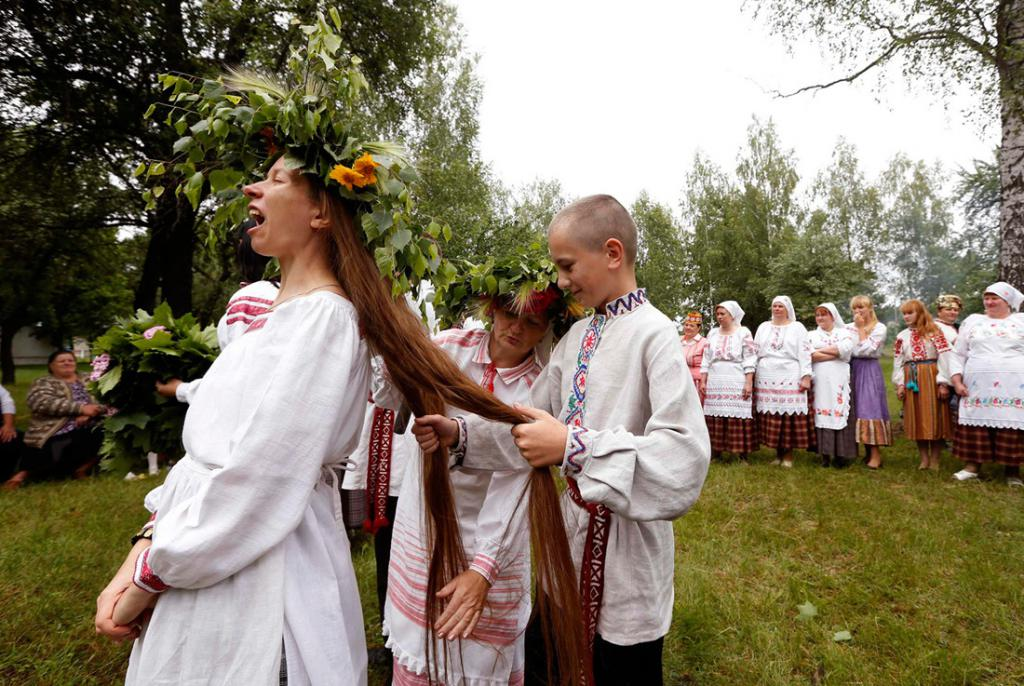 славянский обряд свадьбы