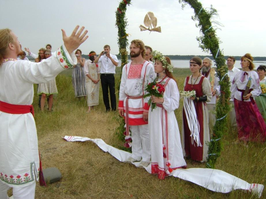 славянская свадьба организация