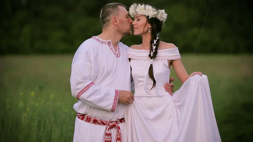 свадьба по славянским обычаям