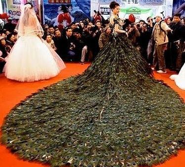 самые дорогие красивые свадебные платья