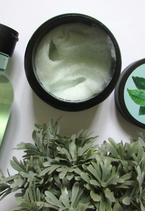 маска для волос зеленый чай