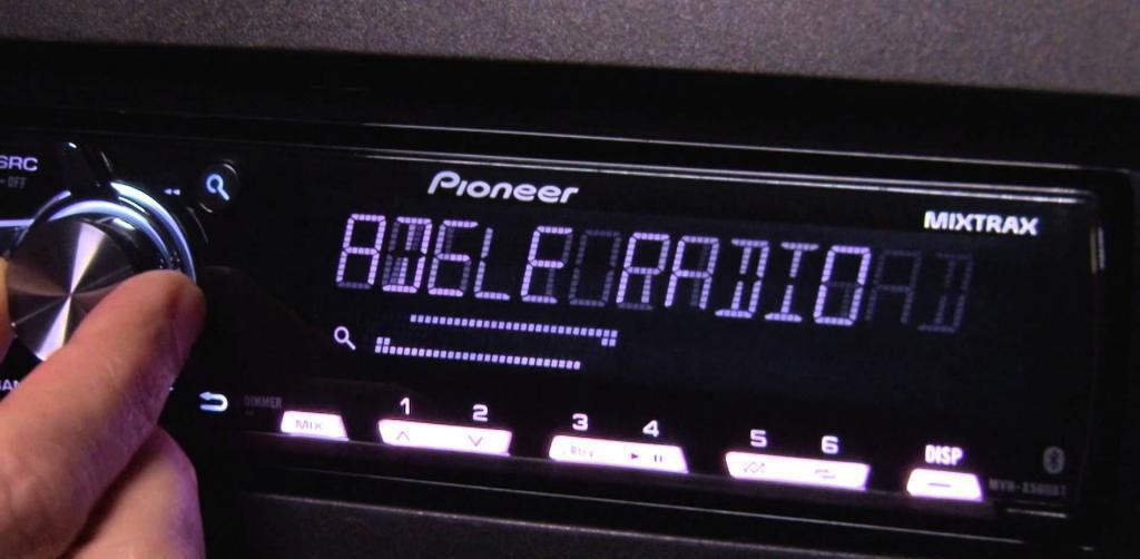 pioneer mvh-x560bt blue