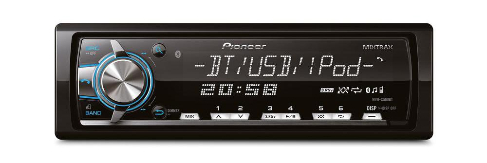 pioneer mvh-x560bt for iphone