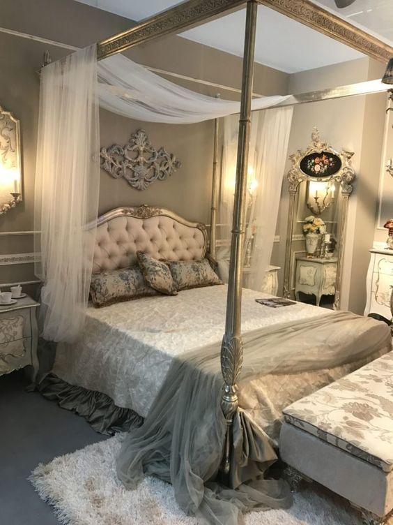 Барокко спальня