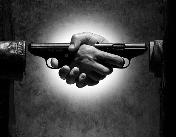 пистолеты пожатие