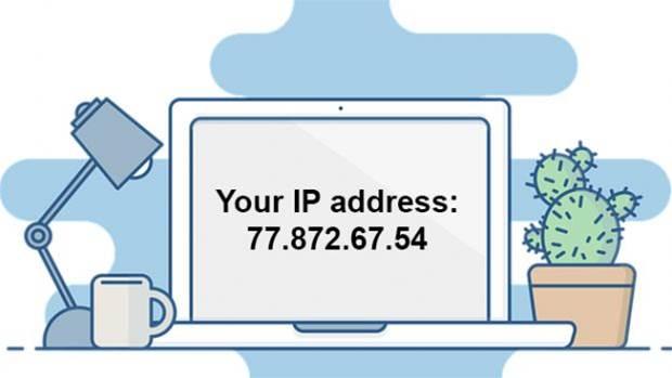 Отображение IP адреса