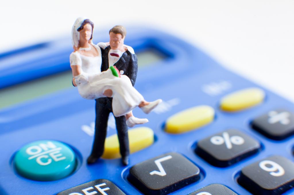 средний бюджет свадьбы