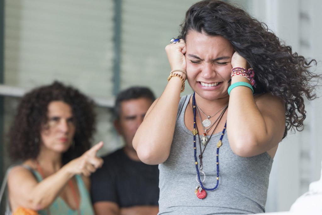 конфликт подростка с родителями