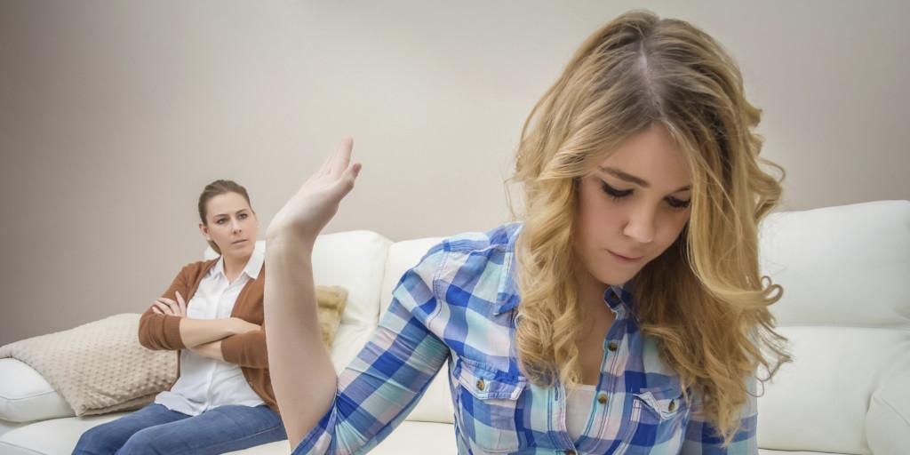 конфликт матери с дочерью
