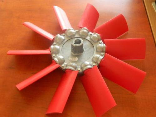 Как сделать лопасти для вентилятора из кулера7