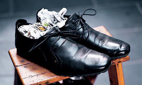 как можно растянуть туфли