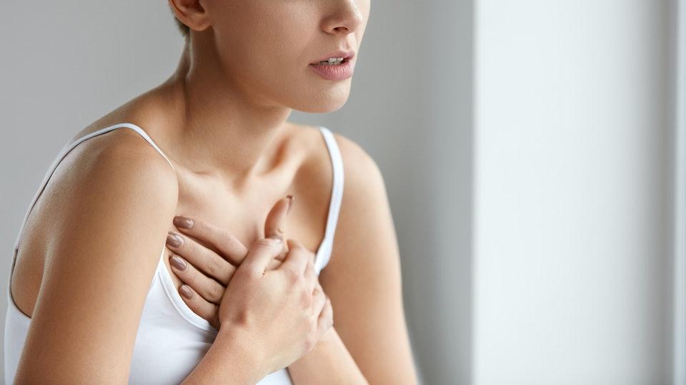 боль в груди при патологии сердца