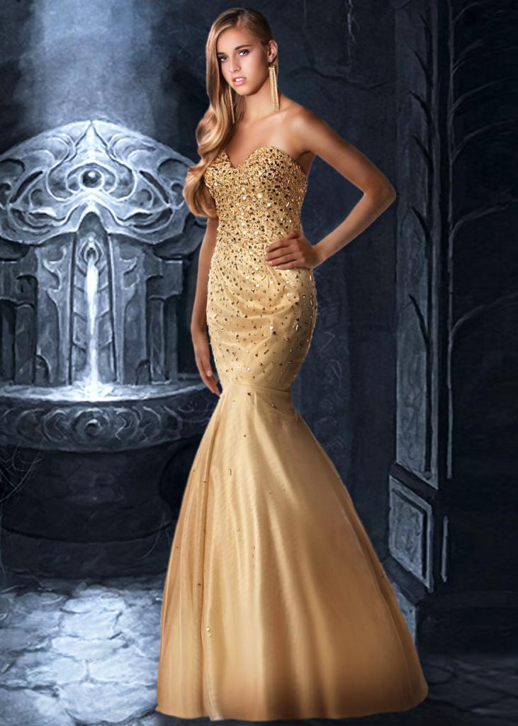 Платье труба