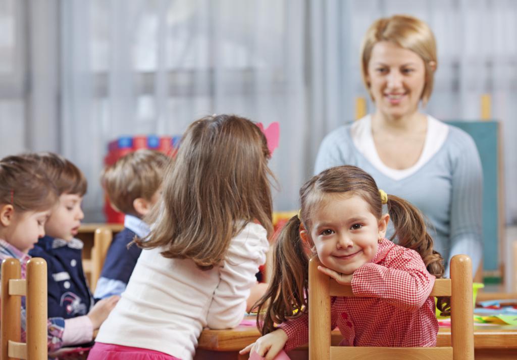 вторая младшая группа детского сада
