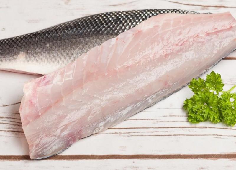 Мясо здоровой рыбы