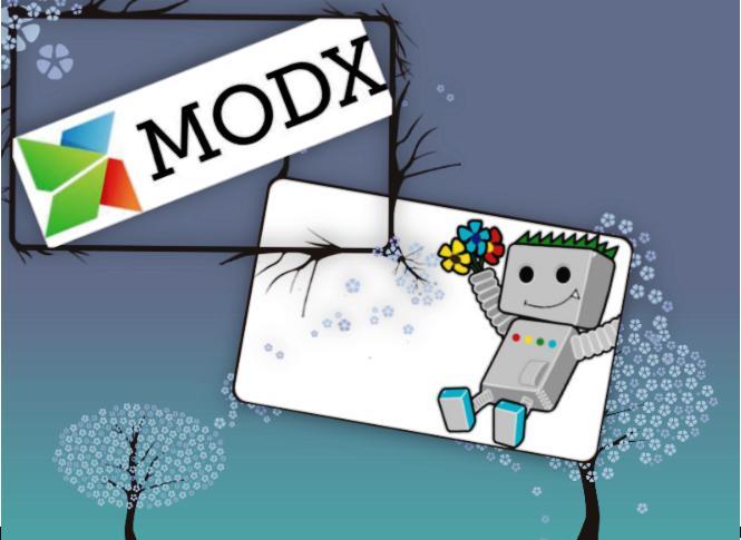 Робот в облаке MODX