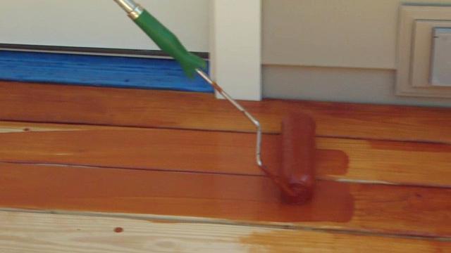 морилка неводная акриловая хорошо наносится валиком